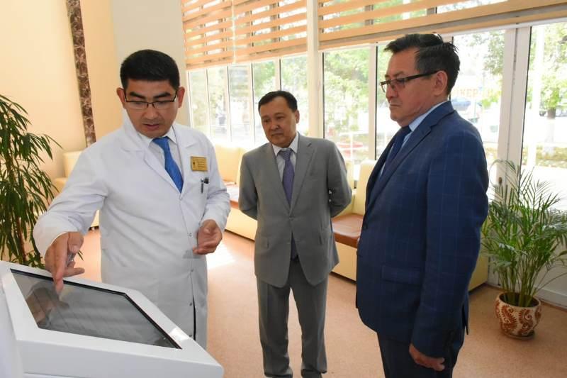 Инсультный центр открылся в Туркестане