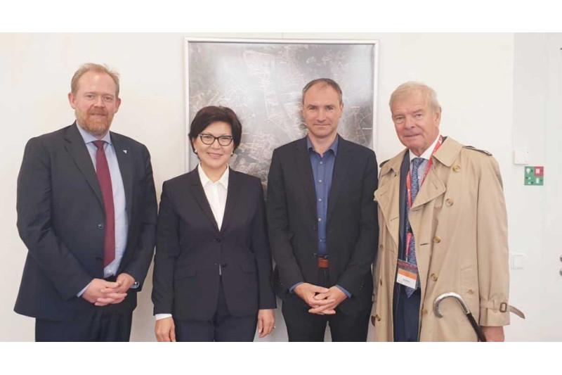 Antwerp/Flanders Port Training Centre keen on cooperating with Kazakhstan