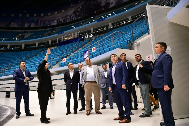 UWW инспектирует готовность Нур-Султана к чемпионату мира