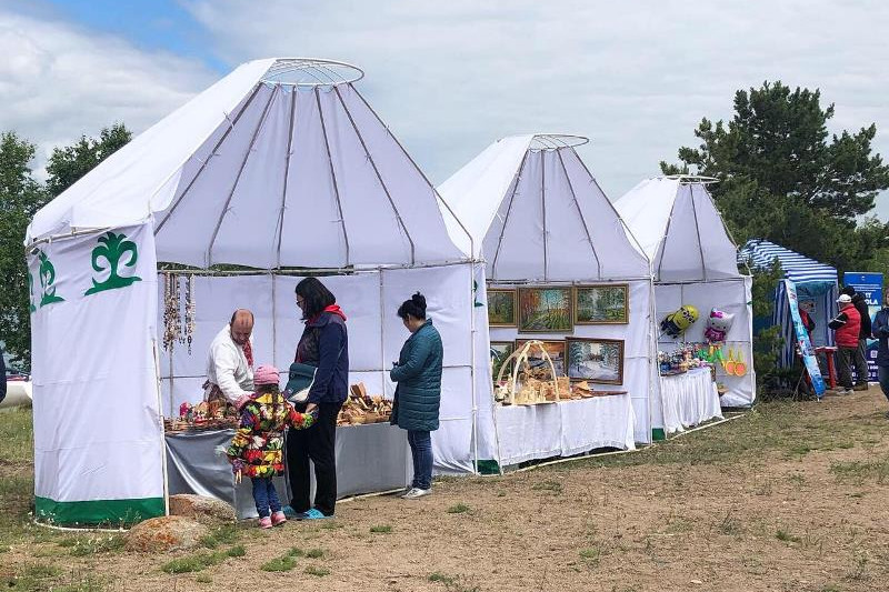 Туристический сезон открыли в Северном Казахстане