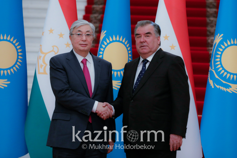 Kassym-Jomart Tokayev, Emomali Rahmon meet in Dushanbe