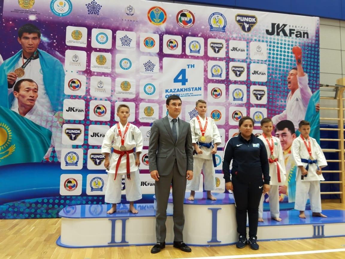 В Нур-Султане стартовал международный турнир по каратэ Kazakhstan open