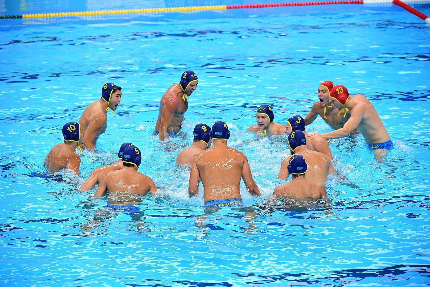 Сборная Казахстана по водному поло поборется за лицензию на Олимпиаду