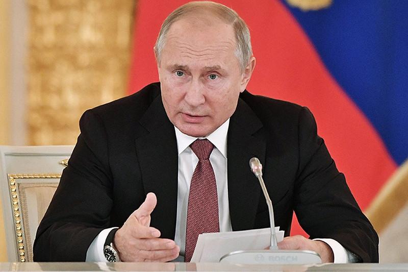 Владимир Путин АӨСШК аясында террористермен күресті күшейтуге шақырды