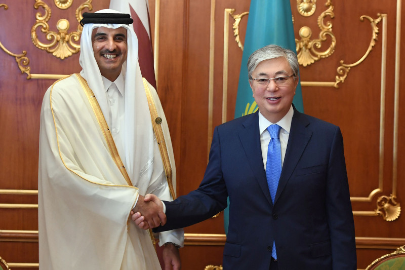 Kazakhstan interested in attracting investments from Qatar, President