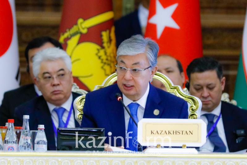 Выстроить под эгидой СВМДА полноценную систему коллективной безопасности предложил Президент РК