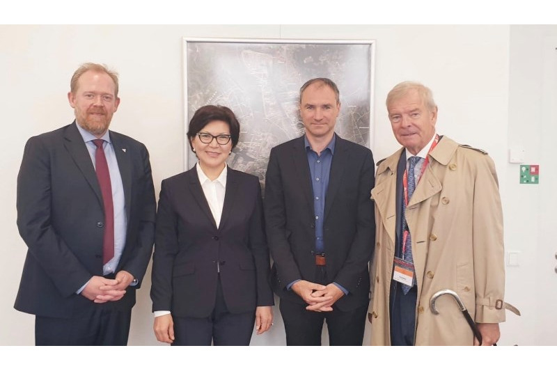 Port of Antwerp training centre interested in cooperation with Kazakhstan