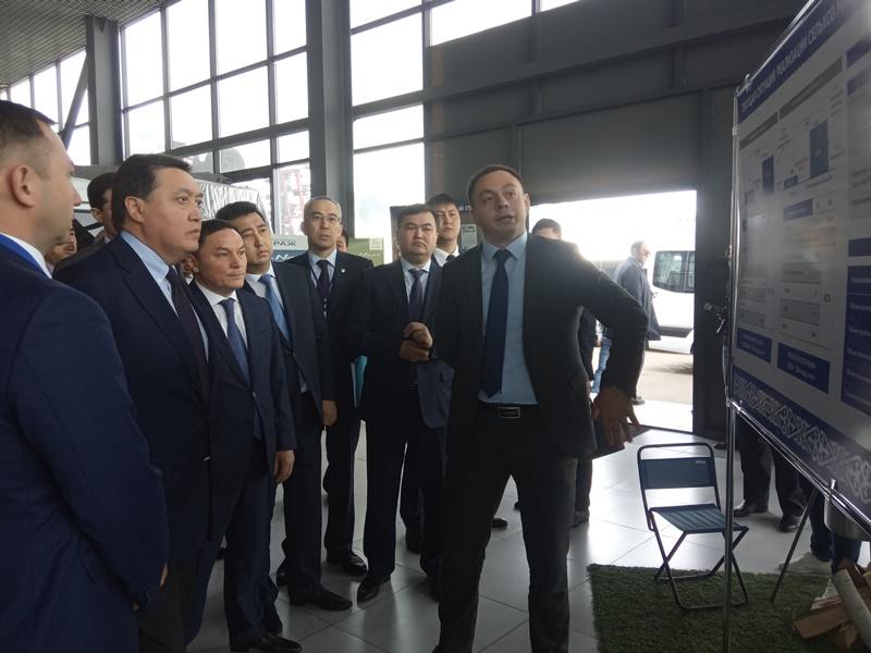 Kazakh PM tours Akmola region