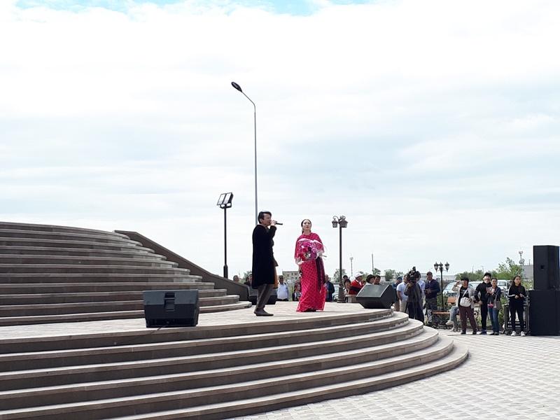 Памятник Богенбай батыру открыли в Актобе