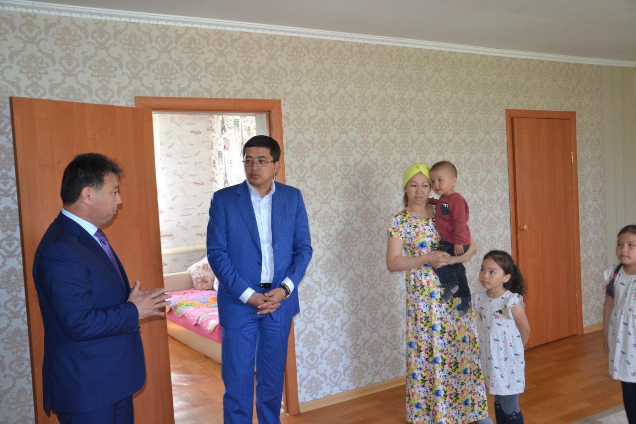 Еңбек және халықты әлеуметтік қорғау бірінші вице-министрі СҚО-да жүр