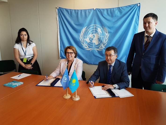 Казахстан и ООН будут сотрудничать в сфере космической деятельности