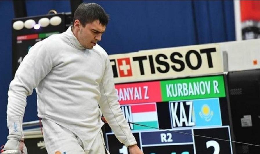 Руслан Курбанов стал бронзовым призером чемпионата Азии по фехтованию