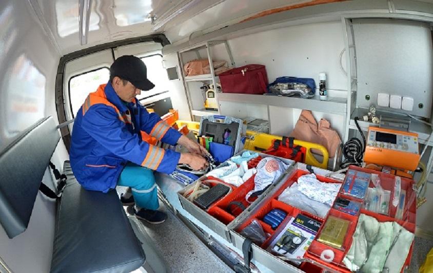 На всех междугородных трассах Павлодарской области установлены пункты скорой помощи