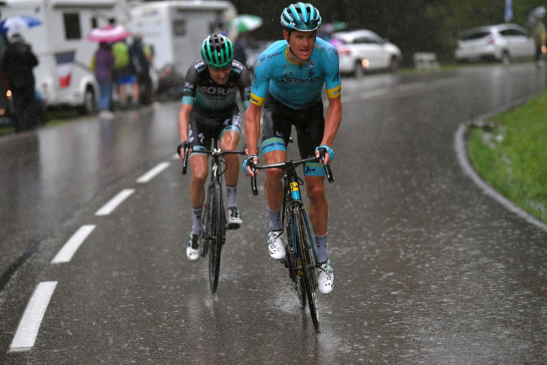 Critérium du Dauphiné. Stage 7. Astana's Fuglsang is new race leader after intense queen stage