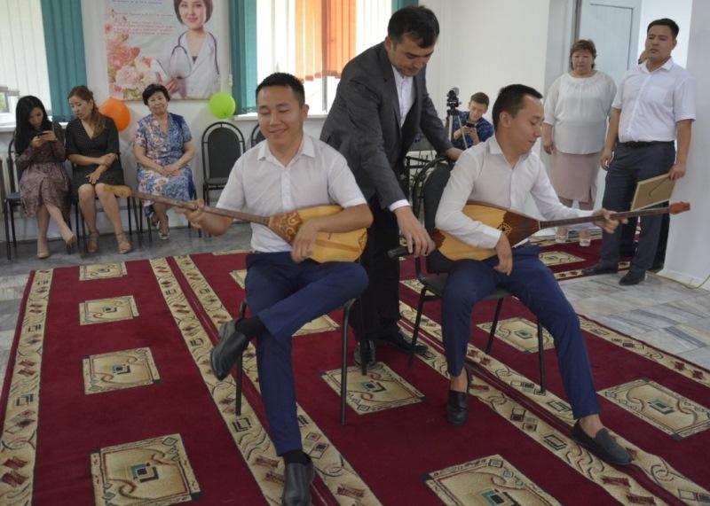 В жамбылском госпитале при департаменте полиции чествовали медработников