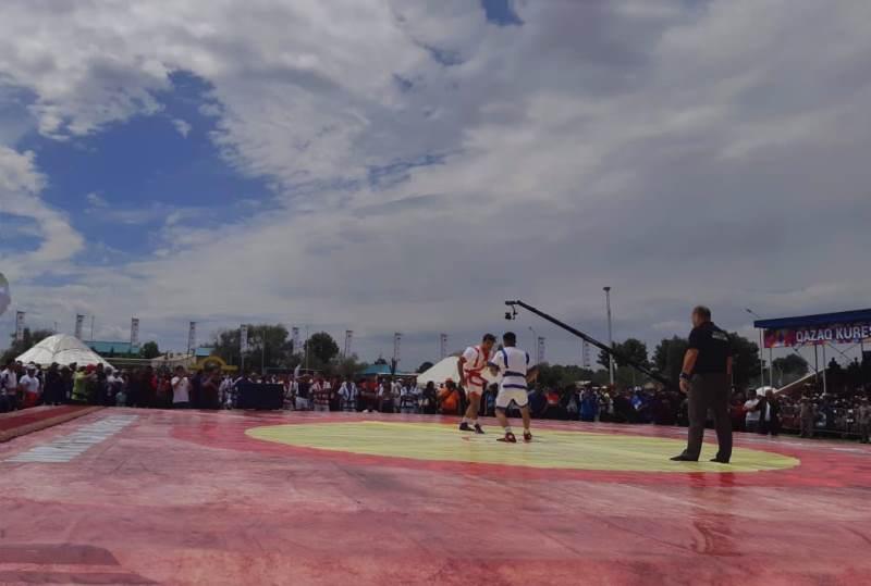Международный турнир Гран-при по казакша курес прошел в ВКО