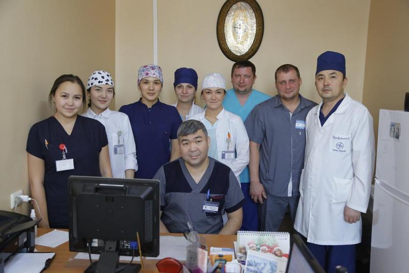 Галымбек Сайлауулы: Лучшая награда - это счастливые глаза пациентов