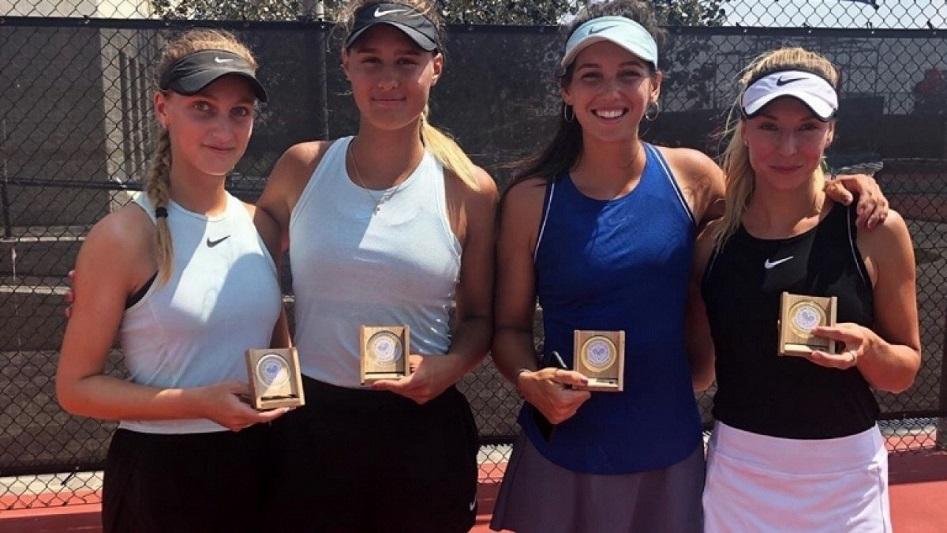 Казахстанская теннисистка стала финалисткой турнира серии ITF Women's в парном разряде