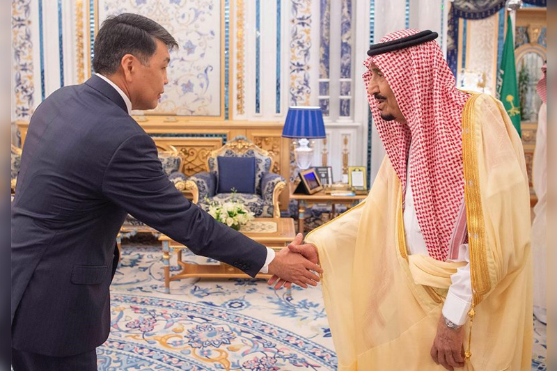 ​Kazakhstan's Ambassador presents Credential Letters to King of Saudi Arabia