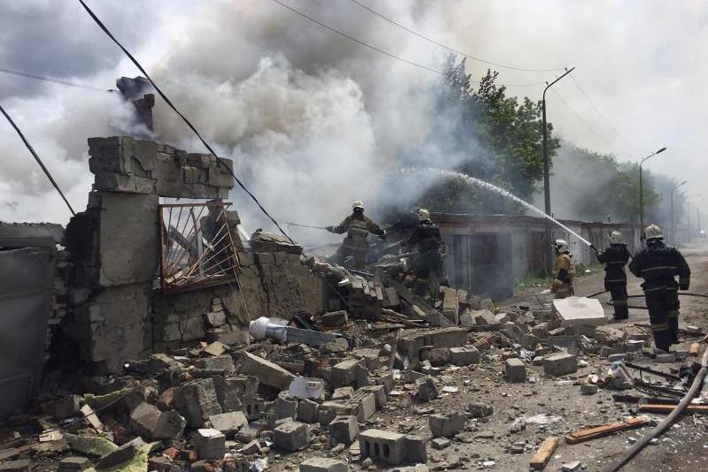 7 человек пострадали при взрыве в Костанае