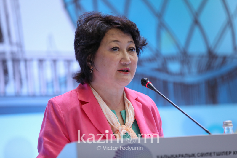 Aktoty Raimkulova appointed as Minister of Culture and Sport