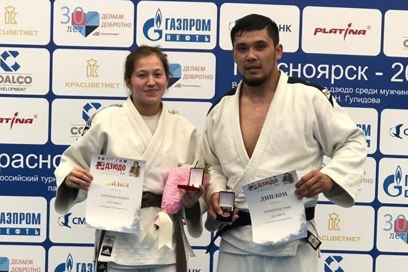 Дзюдоист Сальменов стал чемпионом международного турнира в России