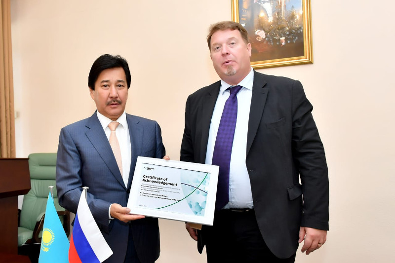 Book by Kazakhstani scientist featured into authoritative database web of science