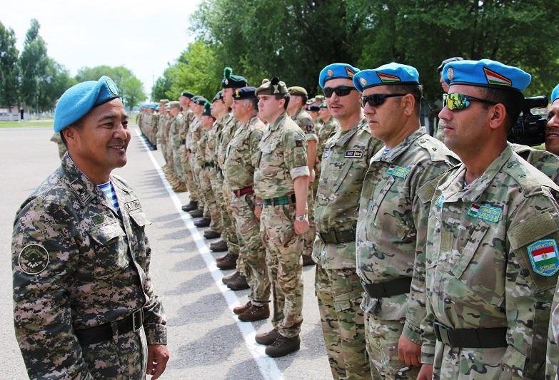 В Алматинской области состоялось открытие миротворческого учения «Степной орел-2019»