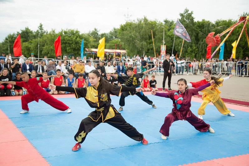 Фестиваль боевых искусств прошел в Кокшетау