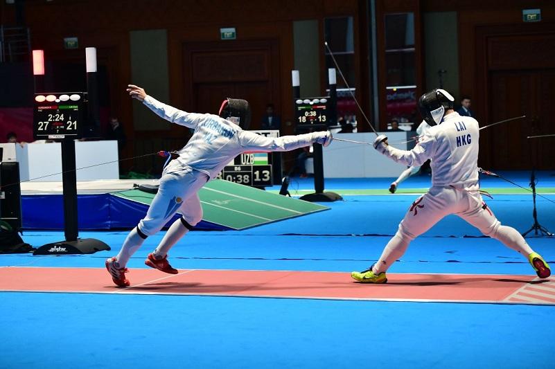 Kazakh team wins bronze at 2019 Fencing Asian Championships