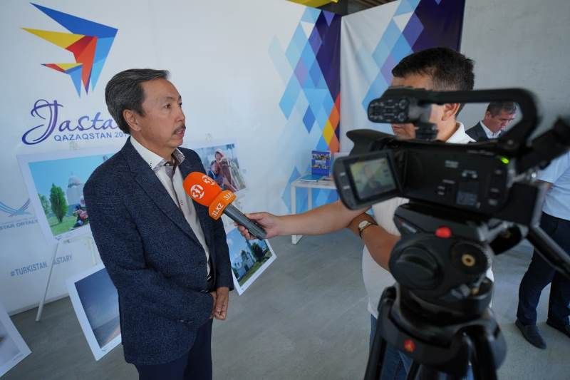 Центр фотоискусства открыли в Туркестане