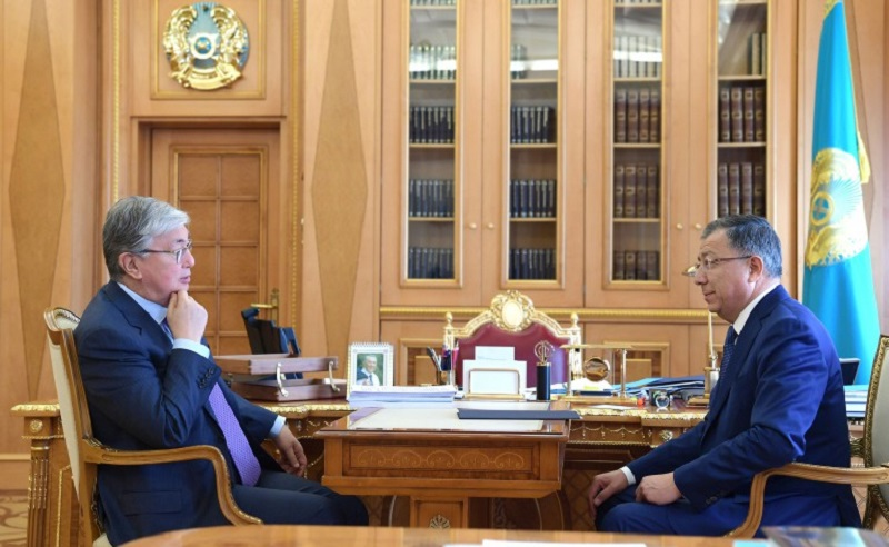 President Tokayev briefed on People's Assembly of Kazakhstan work