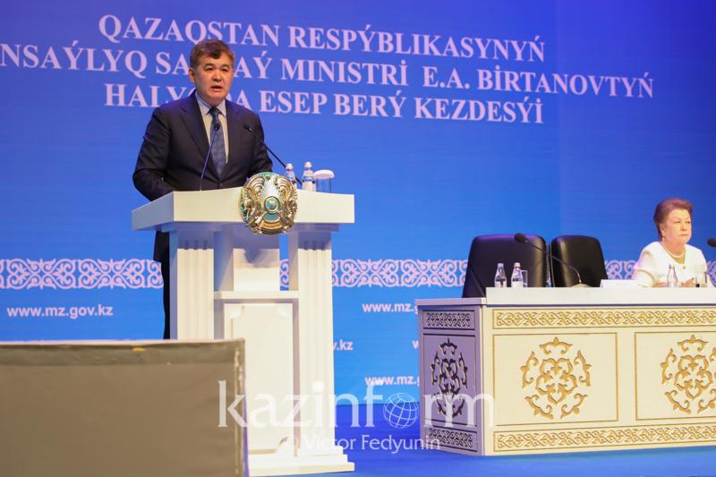 Елжан Биртанов высказался об отправке детей за рубеж для трансплантации костного мозга