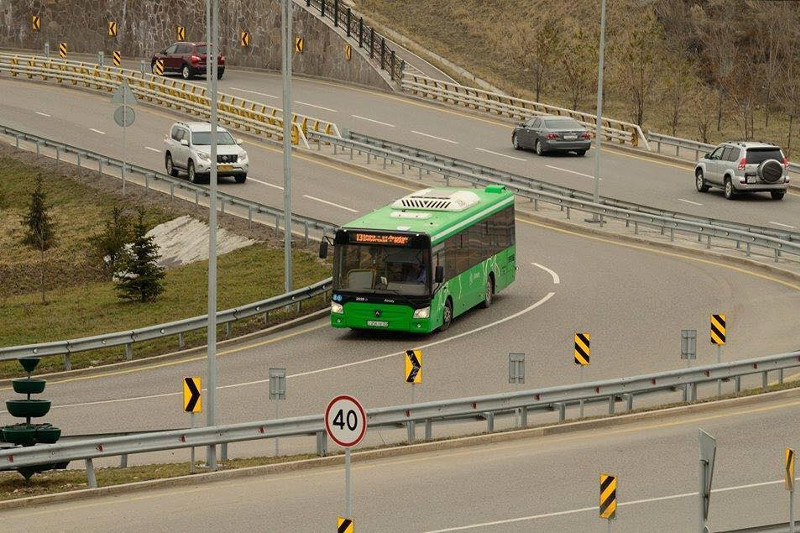 Almaty bus drivers to be scanned by special seat