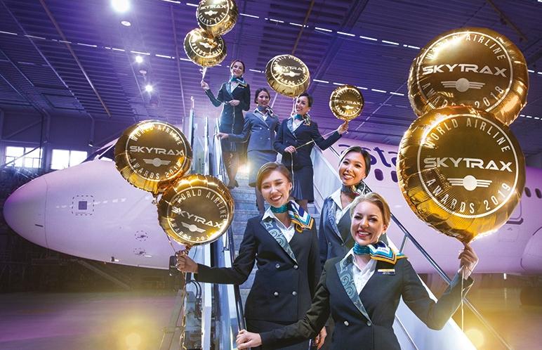 阿斯塔纳航空公司第八次获评中亚最佳航空公司