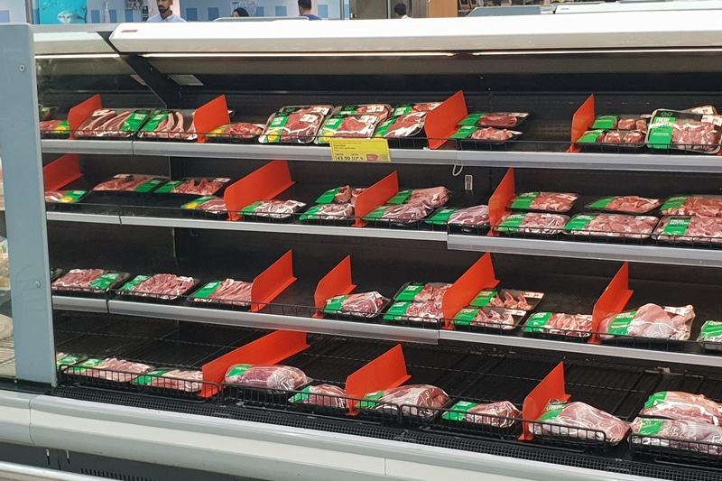 Kazakhstan meat in the UAE stores