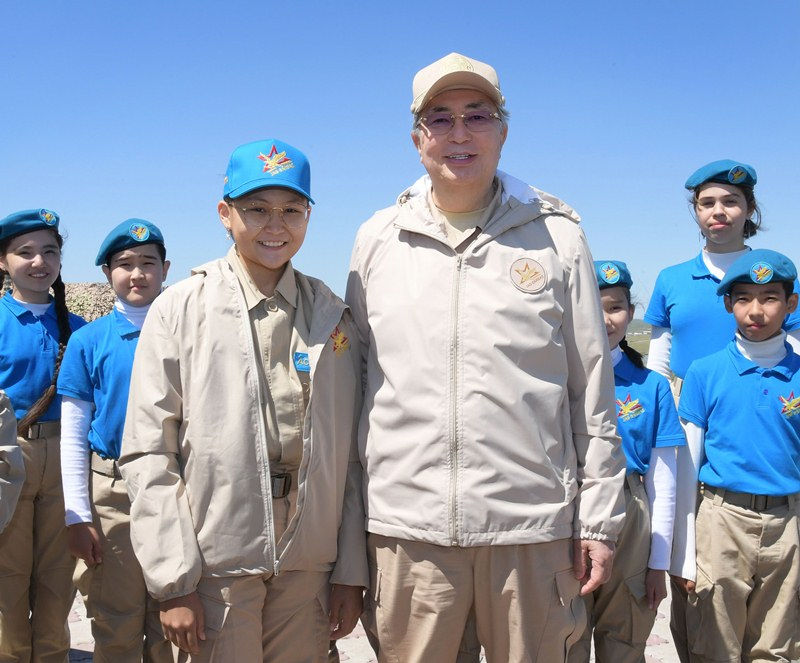 President greets participants of V Aibyn Republican Military-Patriotic Gathering of Youth