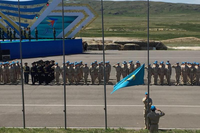 Қарағанды облысында «Айбын» әскери-патриоттық жастар жиыны өтіп жатыр