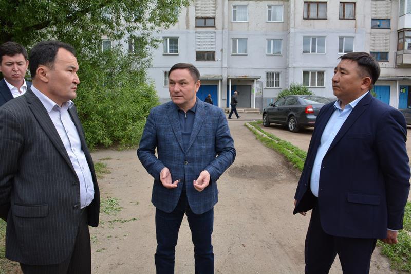 Строительство объектов в Бурабае проинспектировал аким Акмолинской области