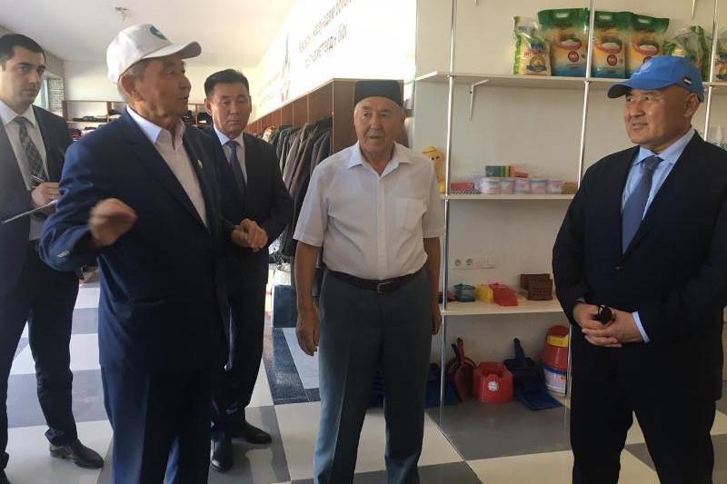 В Туркестане акимат и местные жители сообща решают проблемы орошения и озеленения