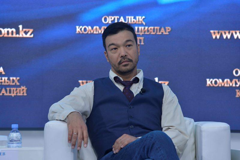 Презентован первый казахстанский детективный триллер «Я здесь»