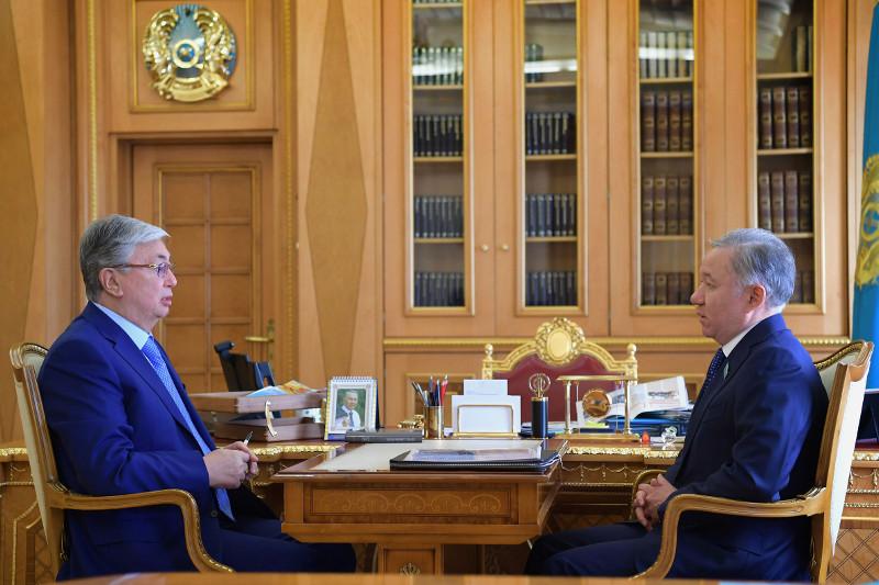 Kazakh President receives Majilis Speaker