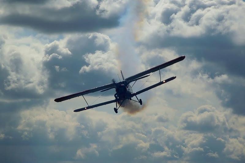 Airplane crashes in Akmola region