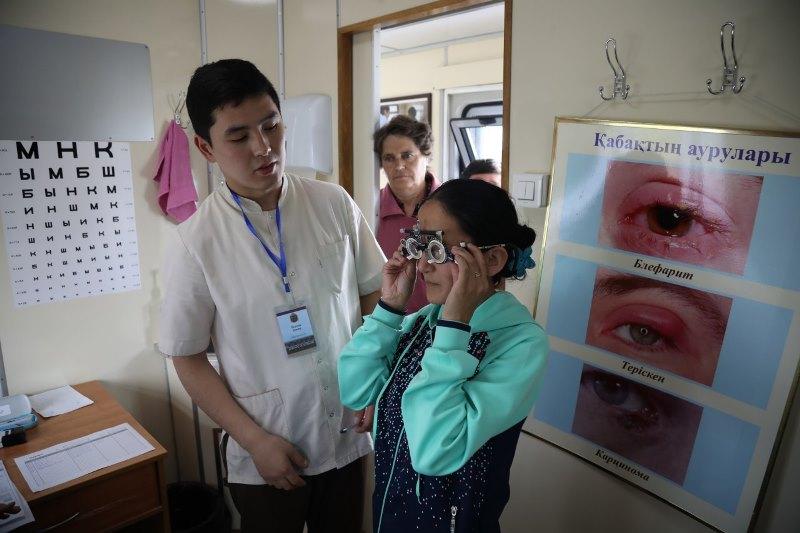 Свыше 7 тыс. жителей отдаленных регионов обследовались в медпоездах