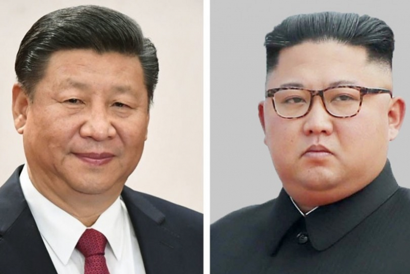China's Xi arrives in Pyongyang, 1st trip as president to N. Korea