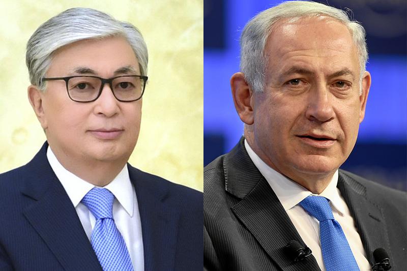 Kazakh President, Israeli PM held telephone talks