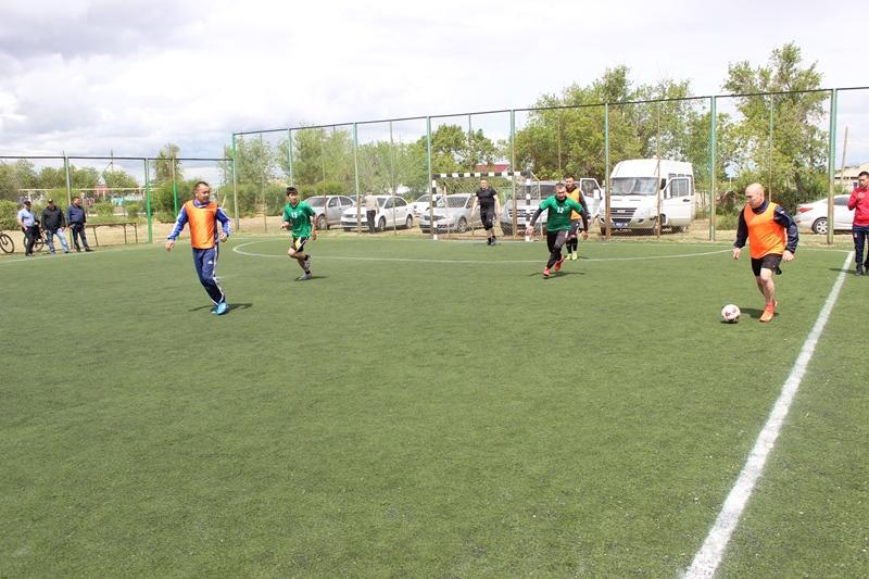 В память о погибшем полицейском провели турнир по мини-футболу в Костанайской области