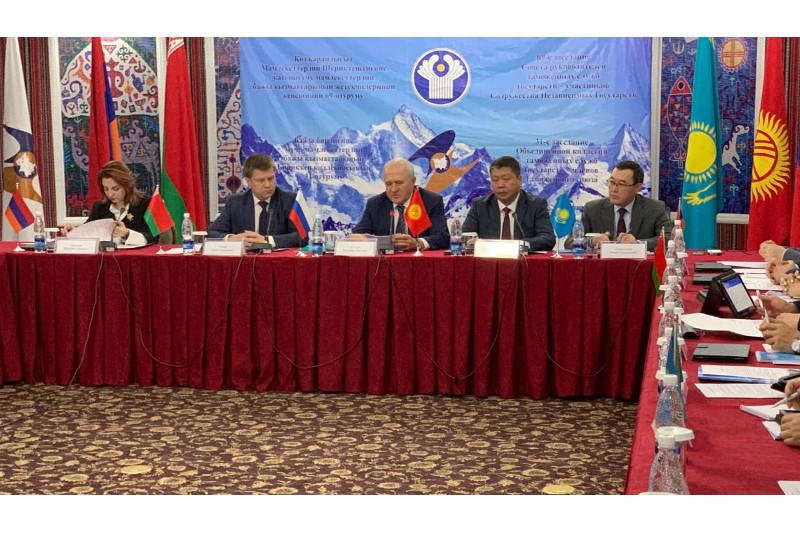 独联体海关理事会会议在比什凯克举行