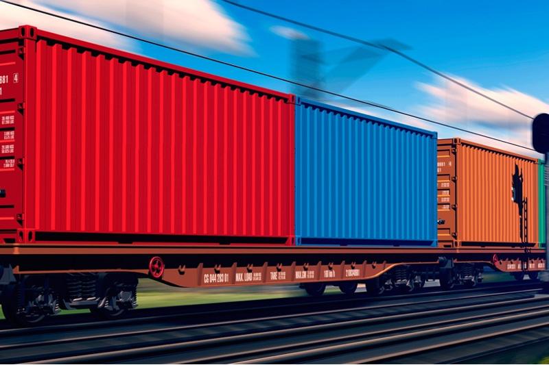 В 2019 году через Казахстан перевезут 1,24 млн железнодорожных контейнеров