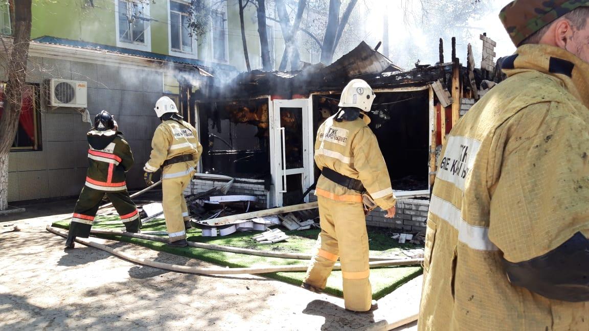 Пожар на заводе пластмасс ликвидировали